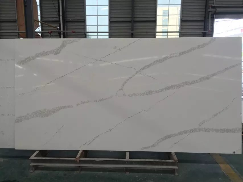 Artificial Calacatta Quartz Slabs