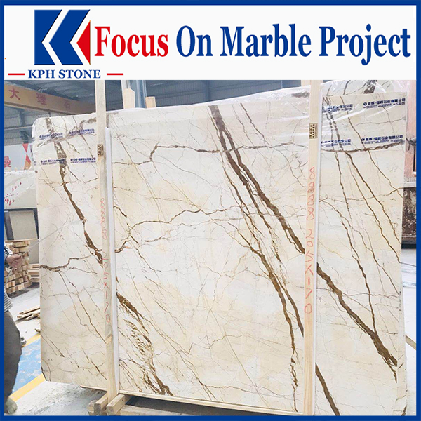 Amber Gold Marble Floors Walls Tiles Slabs For Hotel ICON