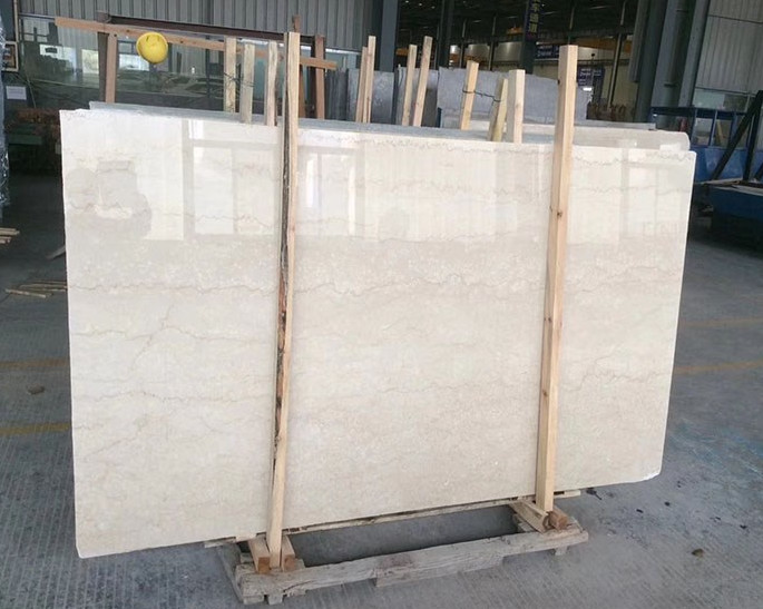 Cheap natural beige marble tiles