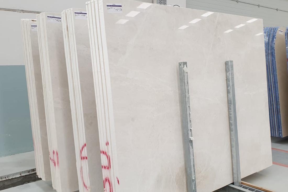 Vanilla Ice White Marble Polished Slabs