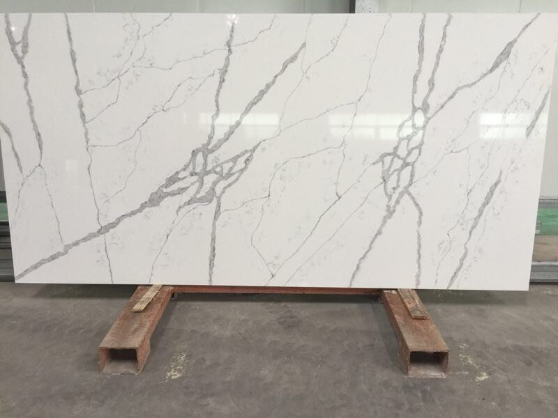 Quartz Surface Top Quality Calacatta White