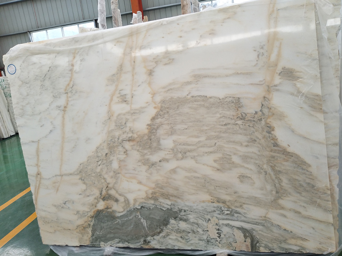 White Marble Slabs 18mm Thickness