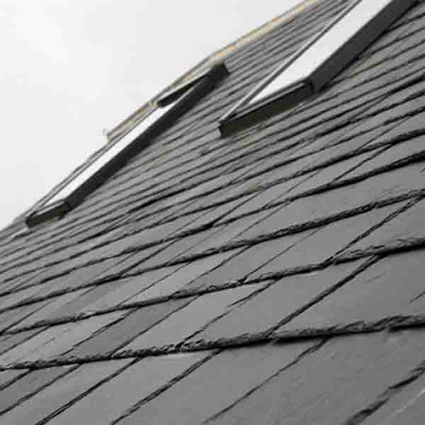 Customized Black  Slate Roofing Tile