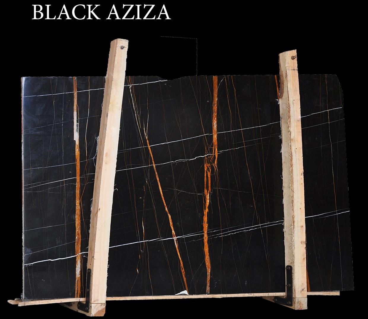 Blazk Aziza Slabs - Sahara Noir Slabs