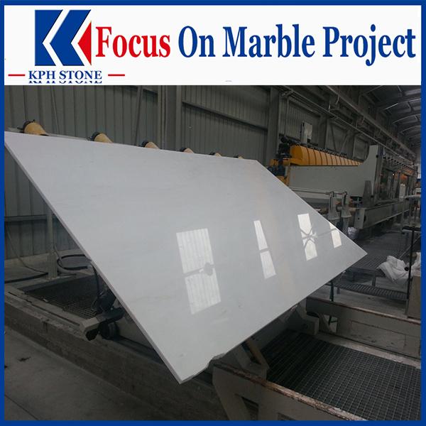 Absolute White Marble Slabs&Tile For Casino&Resort