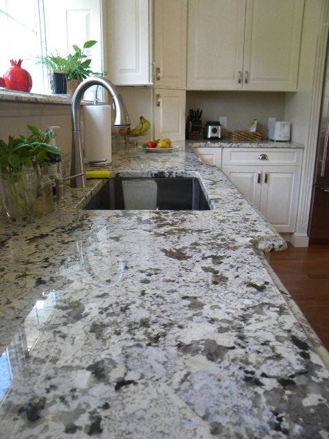 Alaska white granite top
