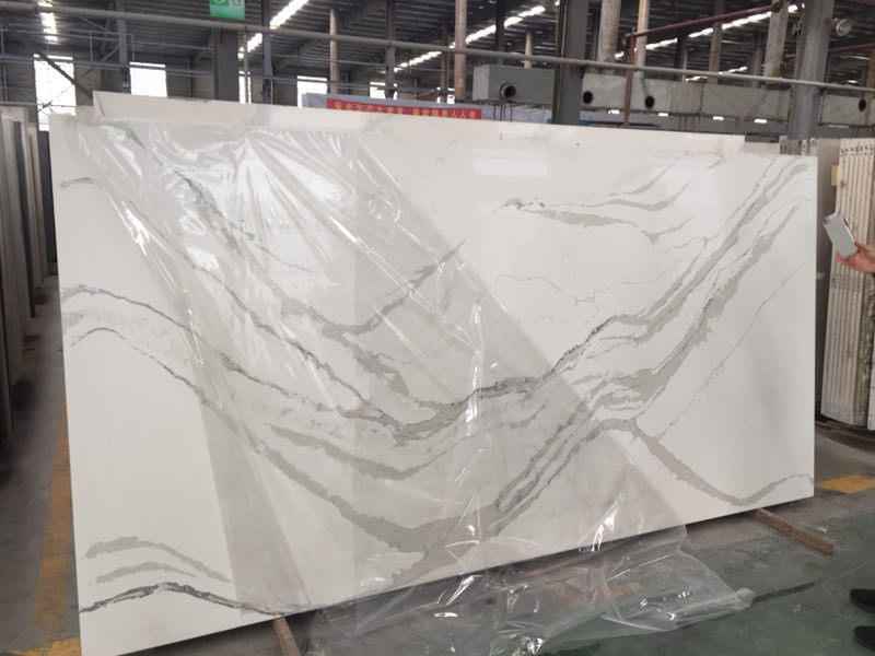 Calacatta White Quartz Worktops