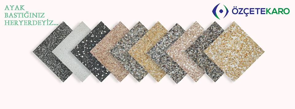 Single Double Layer Interior Outdoor Non slip Cement Terrazzo Tile 30x30 33x33 40x40