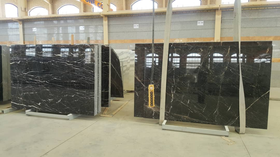 Black White Marble Slabs