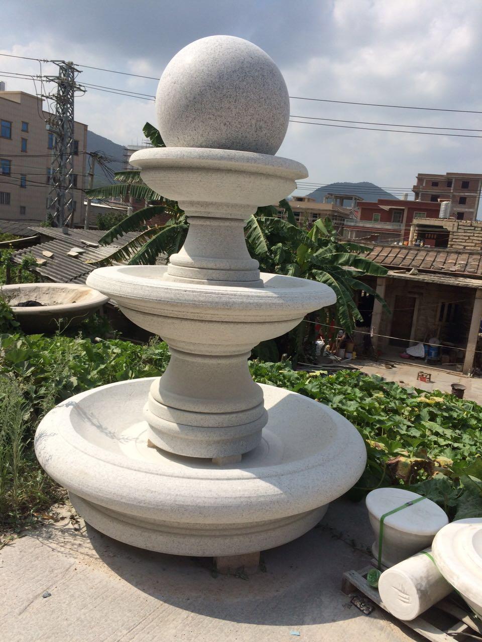 fountain  made of granite g654