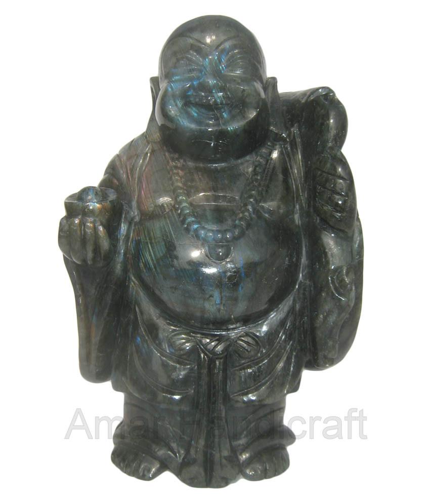 Labradorite Laughing Buddha Laboride Bhudha