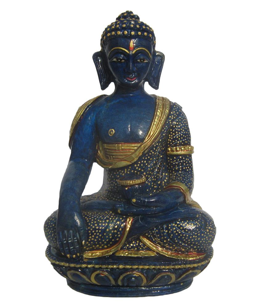 Gemstone Lapis Buddha