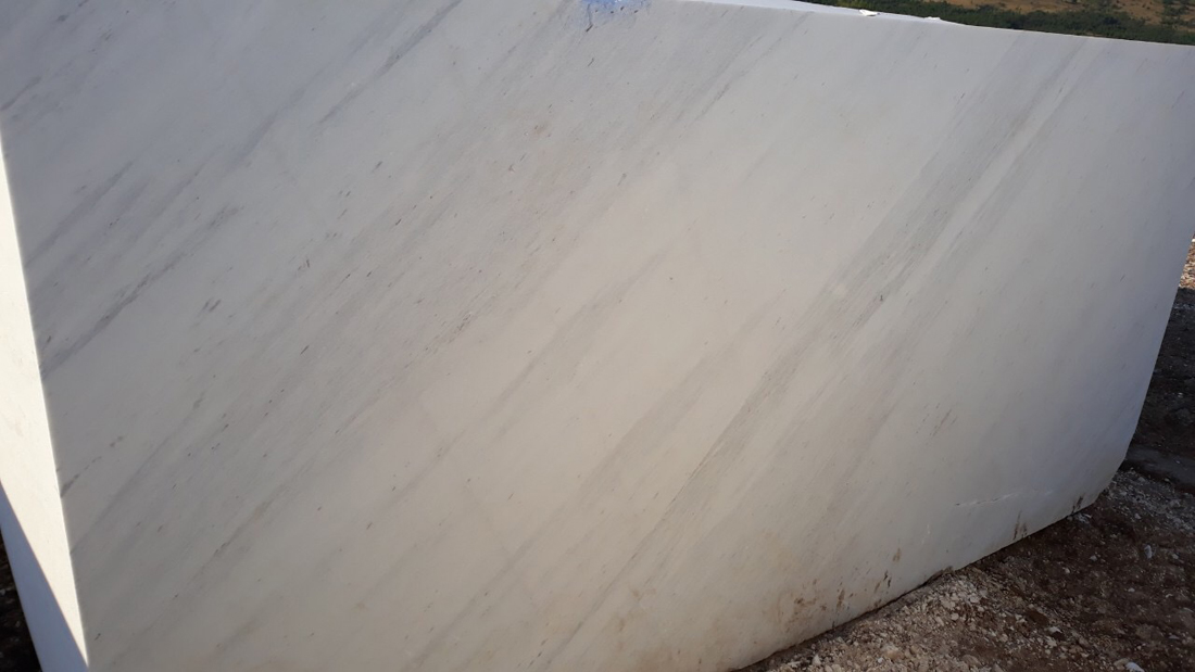 Bianco Heraklea Marble Blocks