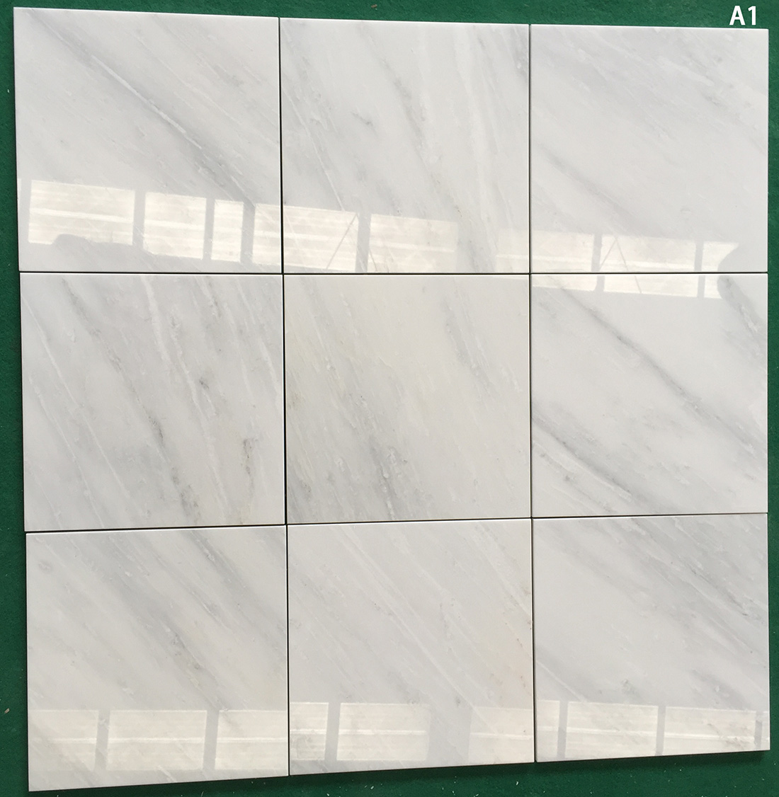 New Oriental White Bianco Carrara Marble Tiles