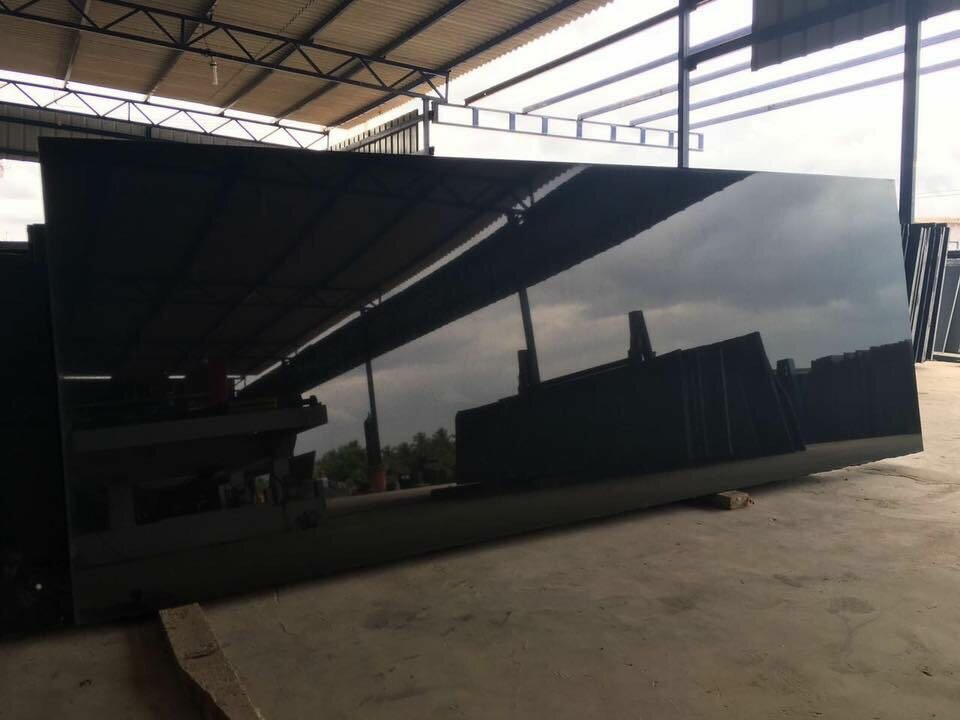 Absolute Black Granite Black Polished Granite Slabs