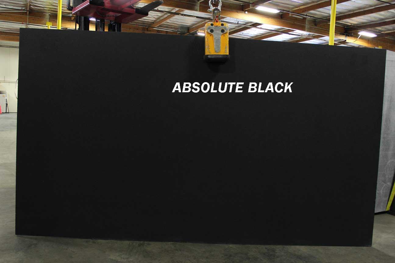 Absolute Black Granite Black Polished Granite Slabs