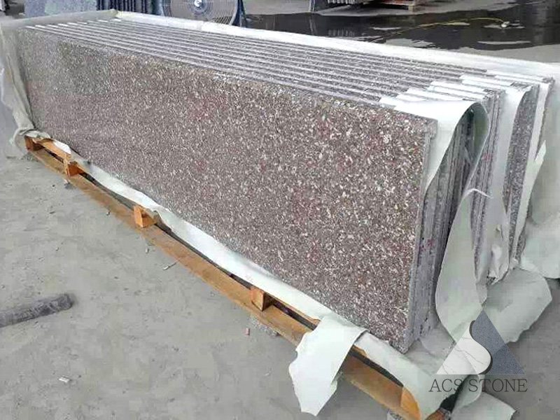 Bainbrook Brown Granite Prefab Countertop
