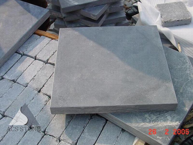 Blue Limestone Tiles for Paving