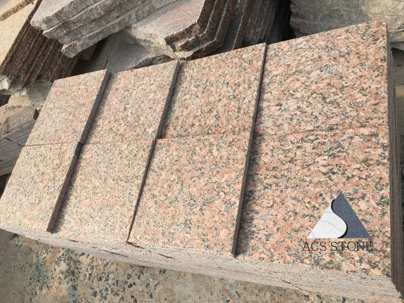 Maple Red Granite Paving Stone