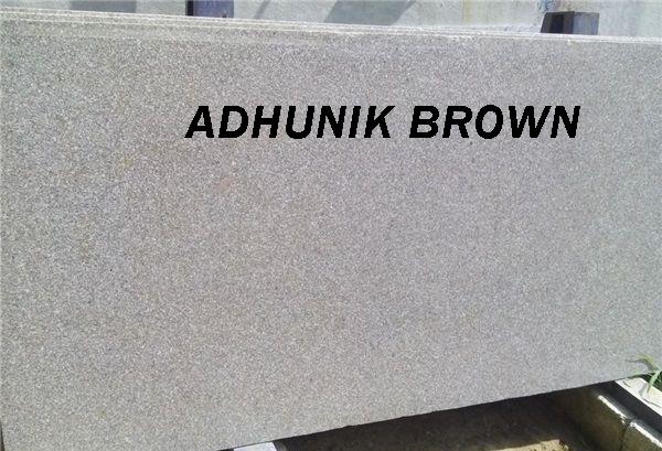 Adhunik Brown Polished Granite Slabs