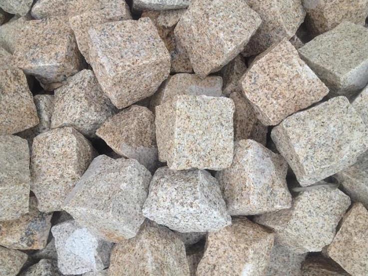 Wholesale Flat Rock Stone Cube Pavers