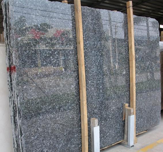 Polished Silver Pearl Granite Stone Tiles Slab
