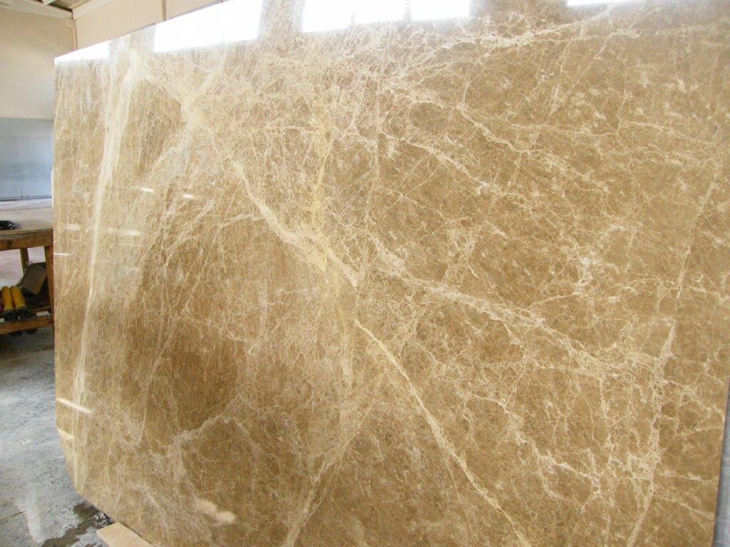 Emperador Polished Brown Marble Slabs