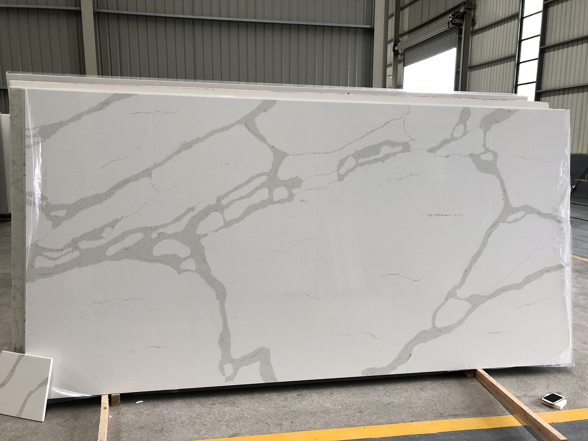 quartz stone calcatta apex 8856