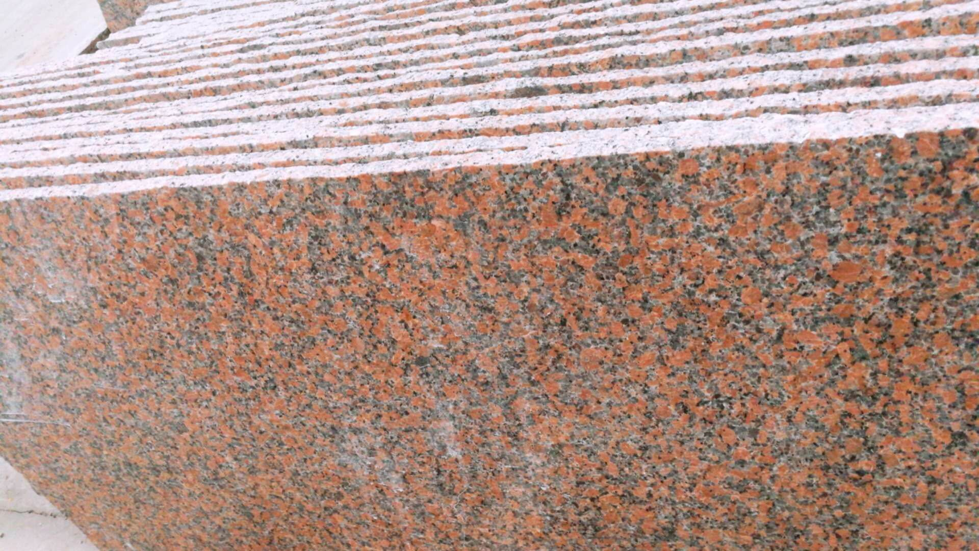 A quality marple red granite