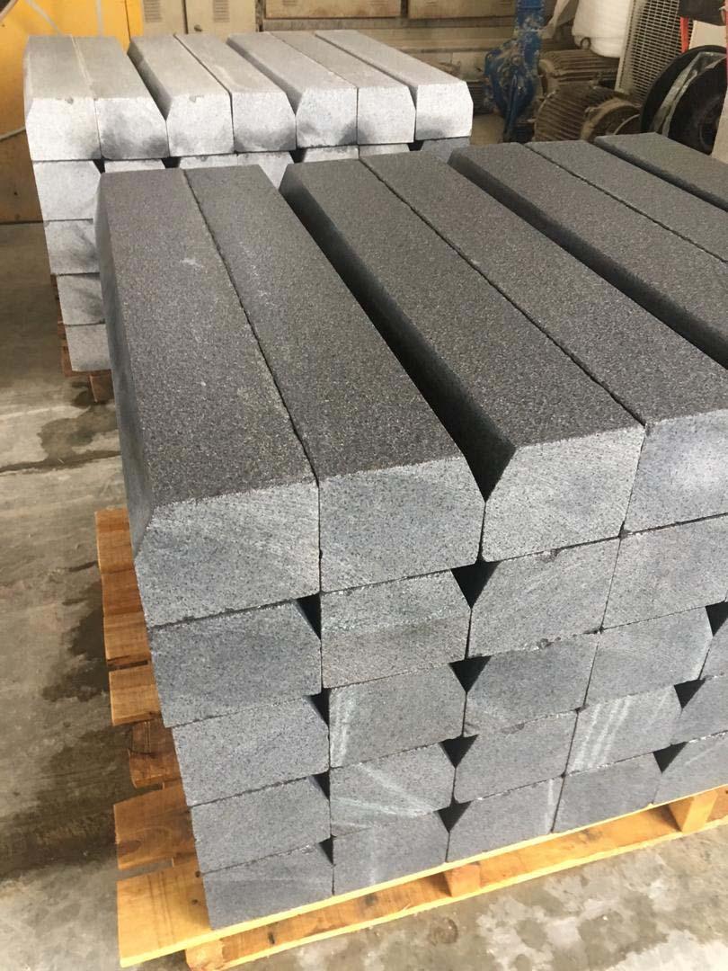 Kerb Black Granite