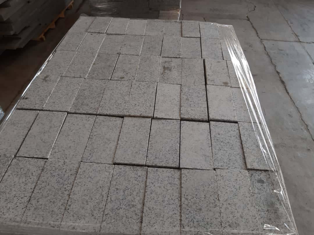 White Granite Paving