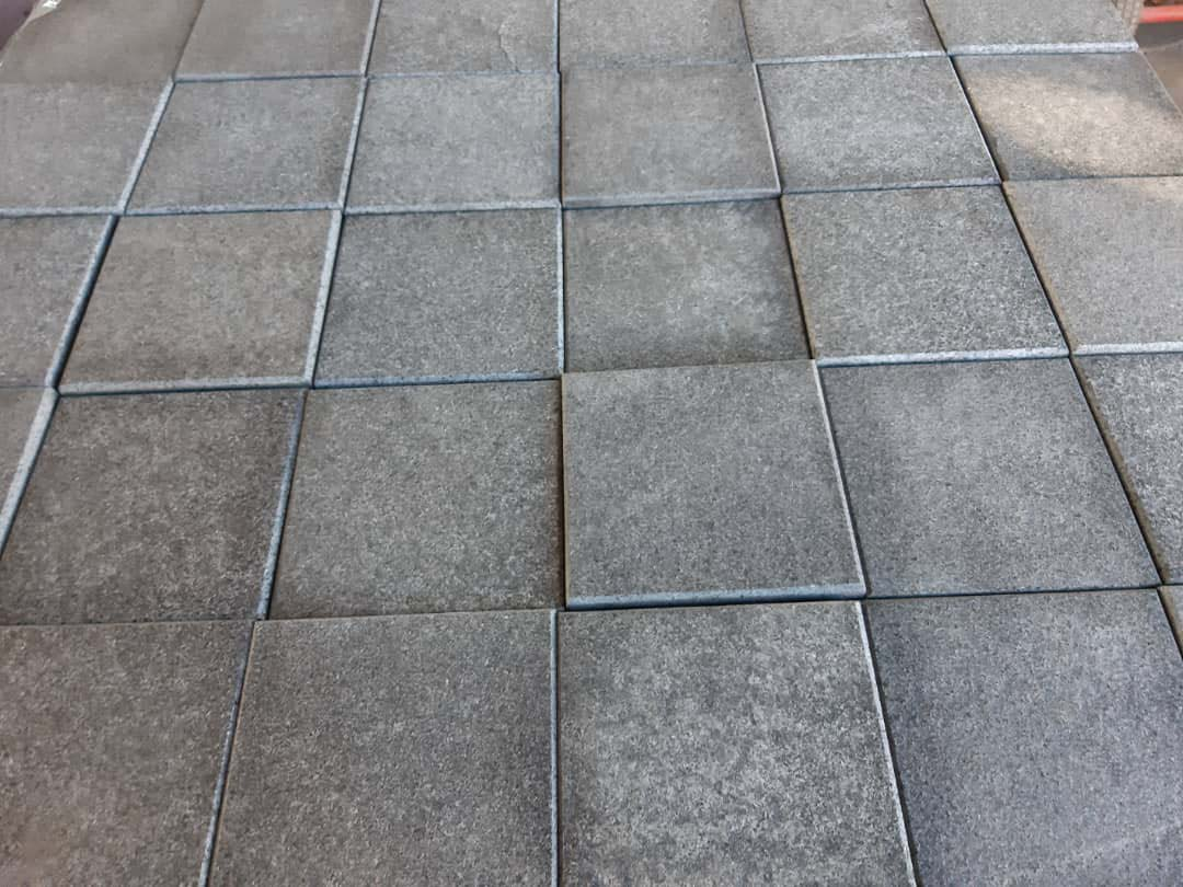 Black Granite Paving