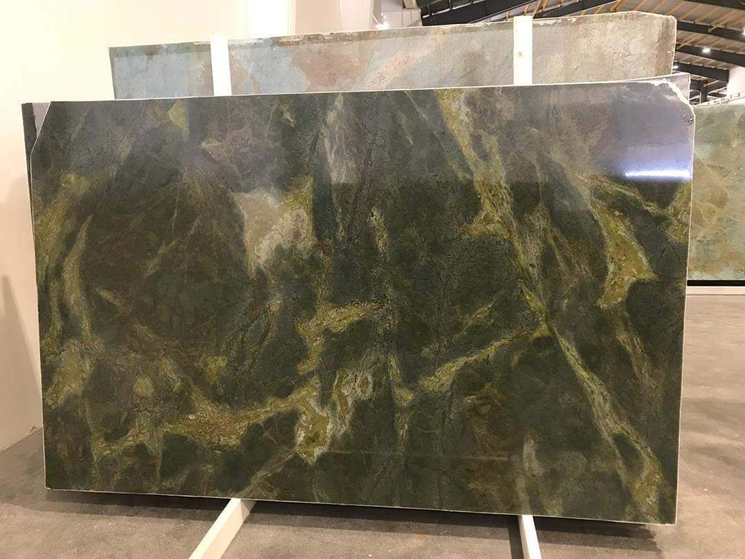 Golden Green Lightning Granite
