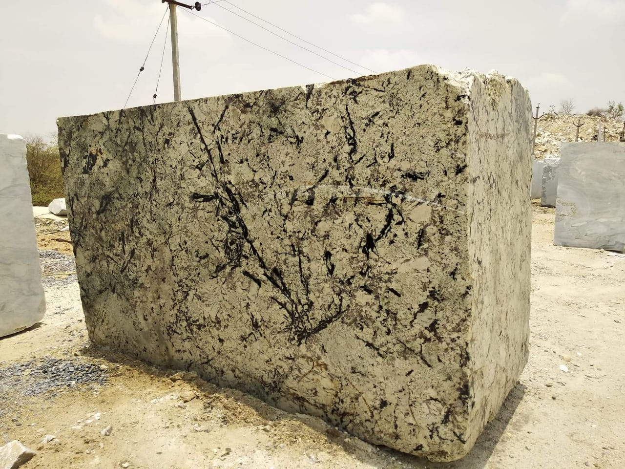 Aartic quartzite block
