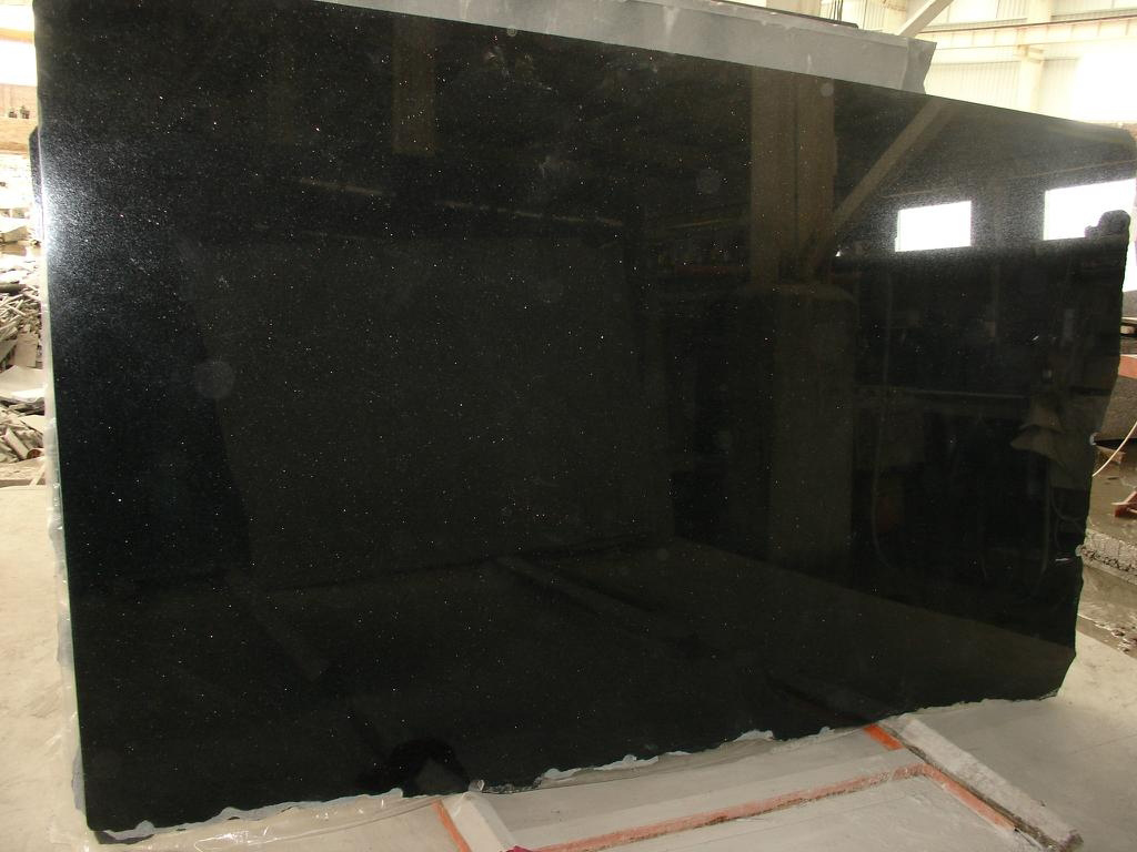 Absolute black granite slab 2