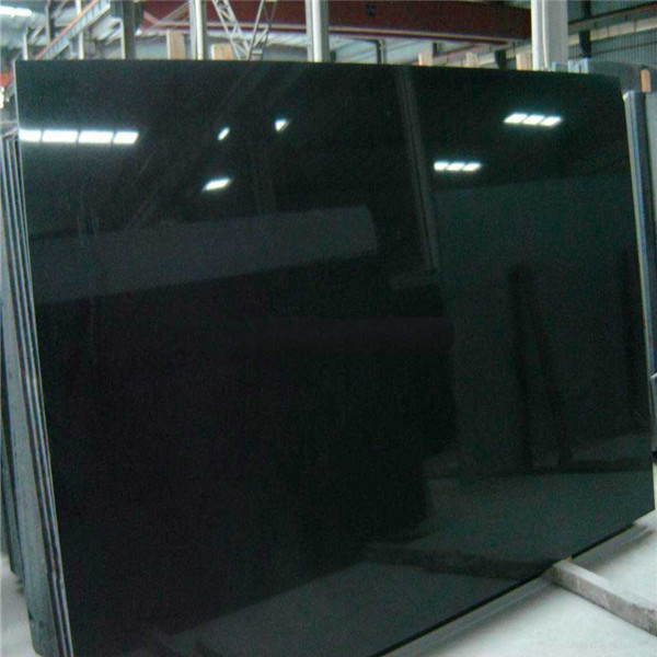 Absolute Black Jiangxi Black Polished Marble Slabs