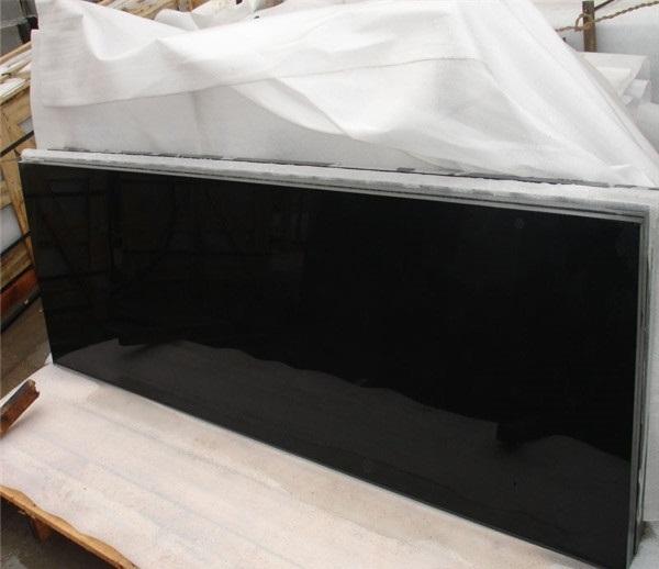 Absolute Black Granite Slabs Polished
