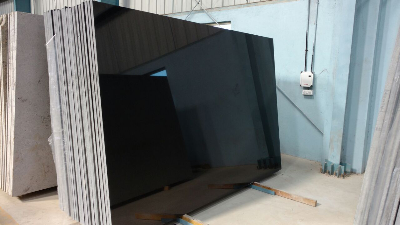 Absolute Black Granite Stone Slabs