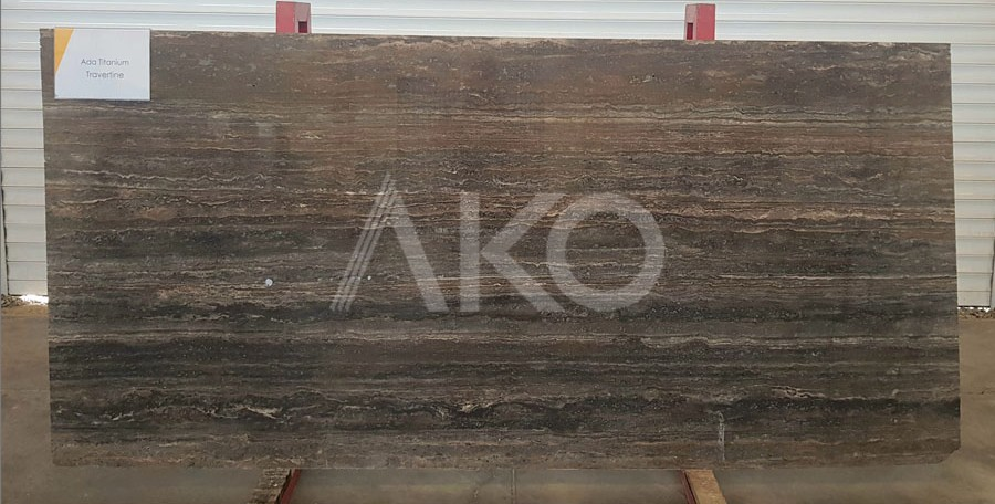 Ada Titanium Travertine