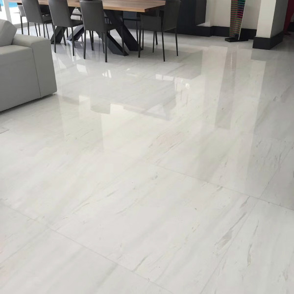 Clear White Marble Tile