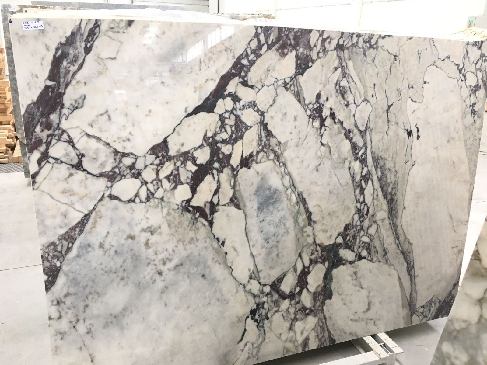 afyon sugar violetta marble slab