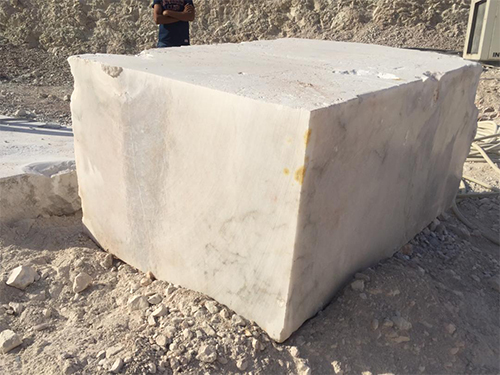Alabaster White Natural Stone Blocks