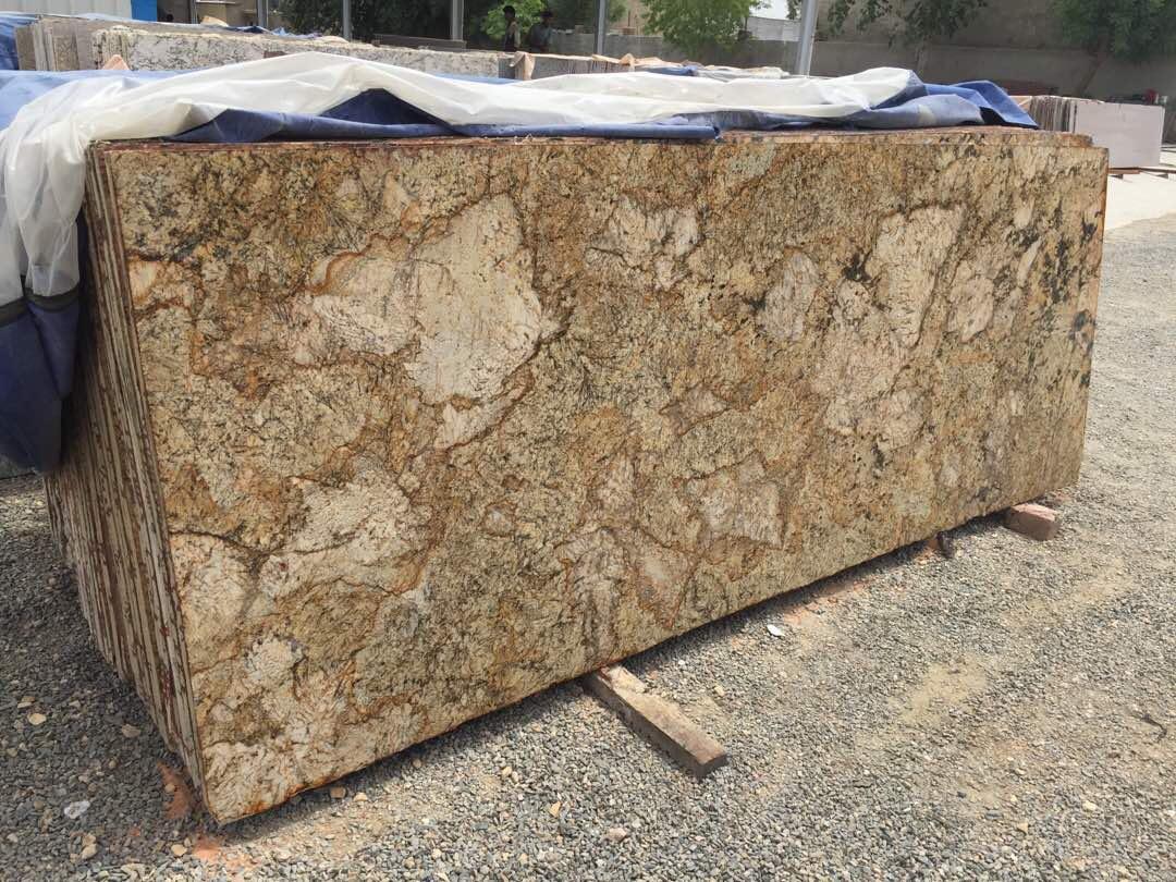 Alaska Gold Granite Polished Granite Slabs