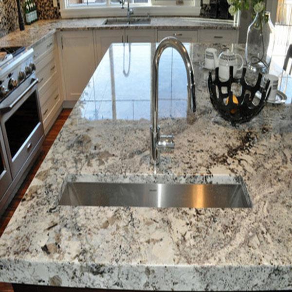 Alaska White Marble Countertop