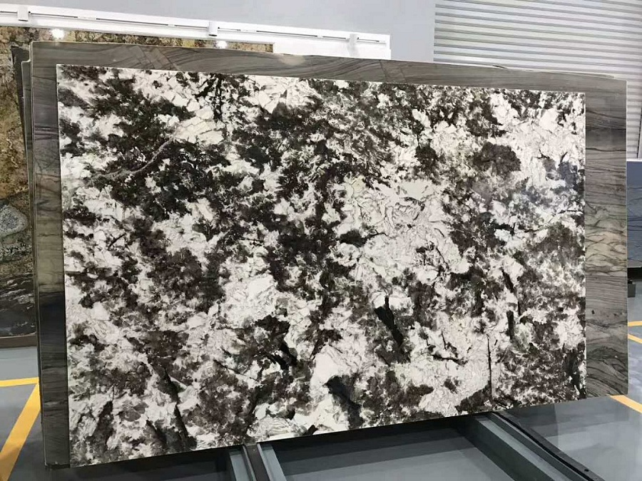 Alpine white slab