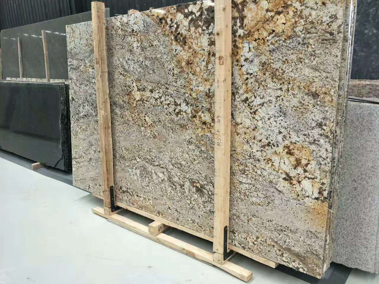 Amazon Gold Granite Slabs
