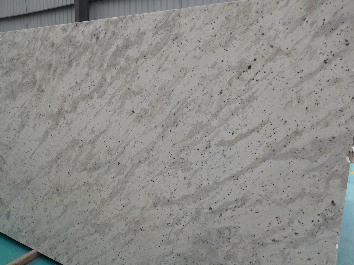 Andromeda Granite Slab White Polished Granite Slab