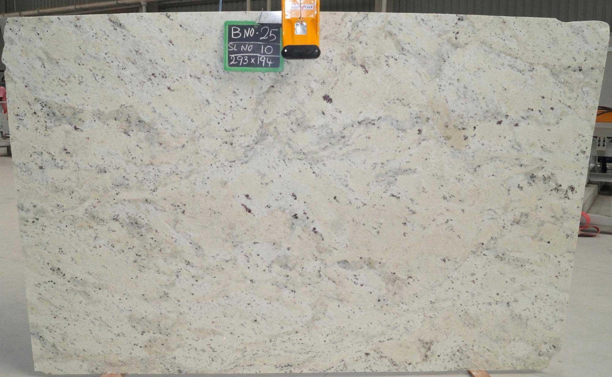 Andromeda White Granite slab