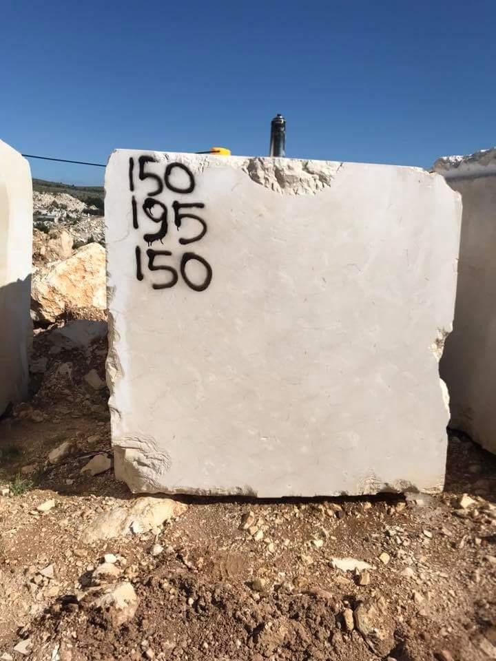 Crema Moni Beige Marble Stone Blocks