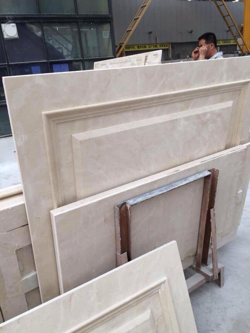 Aran white marble wall cladding